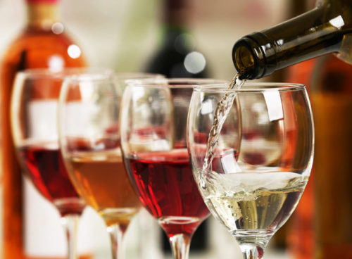 How much alcohol is in wine