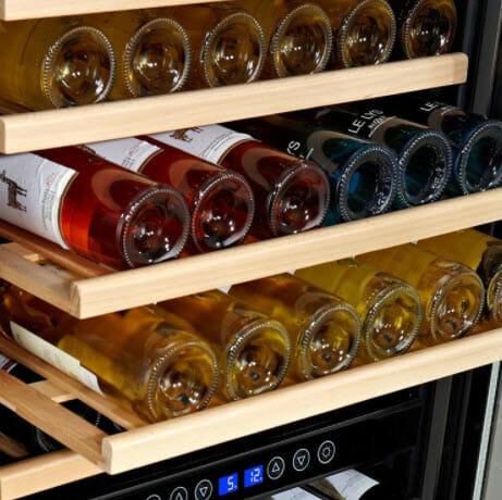 How to make wine cooler in wine fridge