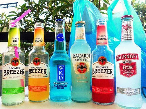 Popular brand name wine cooler